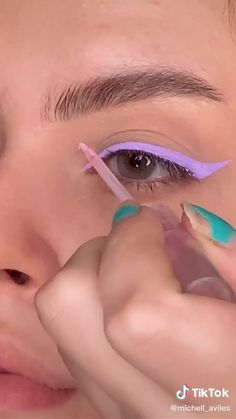 Indie Makeup, Edgy Makeup, Makeup Eye Looks, Eye Makeup Art, No Eyeliner Makeup, Skin Makeup, Maquillage On Fleek, Eye Makeup Designs, Makeup Makeover