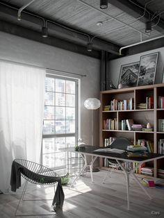 VrayWorld - Work Room