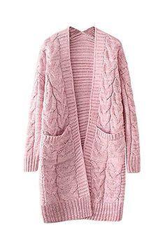 Abaya Fashion, Diva Fashion, Build A Wardrobe, Cable Knit Cardigan, Pink Outfits, Fleece Hoodie, Long Sweaters, Knitting Designs, Sweater Fashion