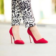 Sorry darling, but the shoes I wear don't allow me to chase after boys!