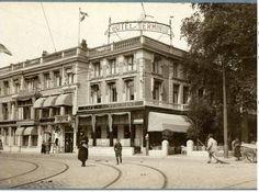 Stationsweg, hotel Terminus, 1921