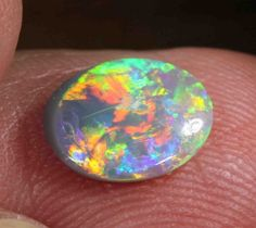 1.30 CTS  BLACK OPAL FROM LR - $299NATURAL BLACK OPAL FROM LIGHTNING RIDGE NEW SOUTH WALES AUSTRALIA, BLACK OPAL GEMSTONE  AT OPALAUCTIONS.COM