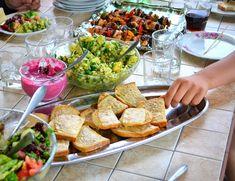 szaszłyki drobiowe z suszonymi pomidorami Cobb Salad, Food, Essen, Meals, Yemek, Eten