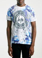 Hype Blue Printed T-Shirt*