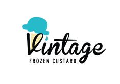 Vintage frozen custard by Brent Taliaferro #icecream #logo