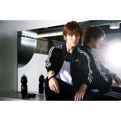 adidas men's training web site now. photo by PAK OK SUN  #adidas #3JSB #EXILE #ad #website #training