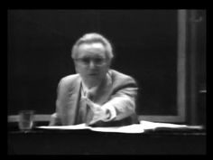 Viktor Frankl: Why believe in others  In this rare clip from 1972, legendary psychiatrist and Holocaust-survivor Viktor Frankl delivers a powerful message about the human search for meaning -- and the most important gift we can give others.