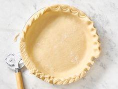 How to Make Pie Crust | Hy-Vee Lattice Pie Crust, Easy Pie Crust, Homemade Pie Crusts, How To Make Pie, Food To Make, Pie Crust Designs, Best Christmas Cookie Recipe, Chocolate Hearts, Cut Out Cookies
