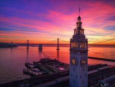 Magical Sunset by vincentjamesphotography #sanfrancisco #sf #bayarea #alwayssf #goldengatebridge #goldengate #alcatraz #california
