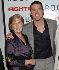 Pin for Later: 90+ Stars Being Sweet With Their Moms Channing Tatum Channing Tatum attended the NYC premiere of Fighting with his mom, Kay, in April 2009.