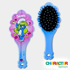 #CharacterFashion Smurfette Hair Brush Gifts For Kids, Great Gifts, Character Group, 9 December, Smurfette, Funky Fashion, Hair Brush, Fashion Accessories, Products