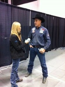 NFR Qualifer Todd Suhn talks about his Round 7 win