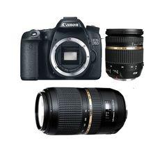 CANON EOS 70D - Appareil photo numérique + objectif TAMRON 17-50 VC + objectif TAMRON 70-300 VC