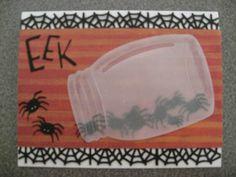 Paper, Scissors, Ink.: Jar full of spiders - EEK!