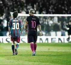 Messi evolución