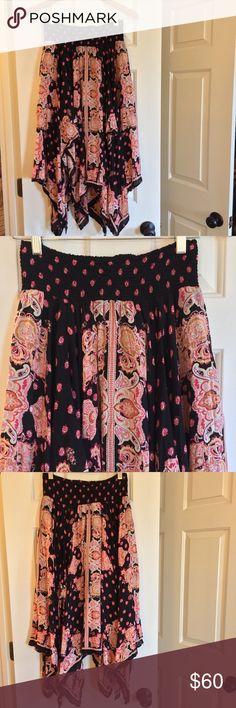 c1ebd37d986 RARE FP Floral Fly Away maxi skirt