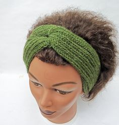 Ladies' 1960s Retro Knitted Turban Handknitted by evefashion, £18.00