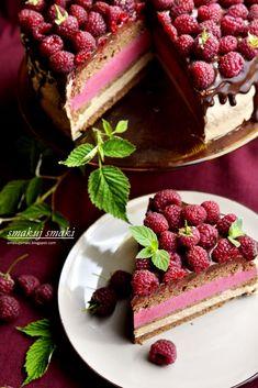 smakuj smaki - przepisy i fotografia kulinarna: Tort czekoladowo-malinowy Food Cakes, Tiramisu, Cookie Recipes, Party Time, Waffles, Cheesecake, Cookies, Breakfast, Ethnic Recipes
