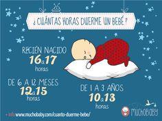 Cuánto duerme un bebé