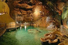 Padirac cave, France - I miss visiting caves.