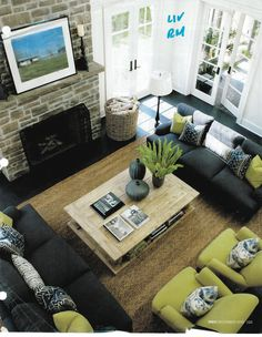 Furniture Layout Ideas Balance And Symmetry