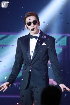 Rain at The Squall World Tour concert stop in Shanghai. (12/26/15)