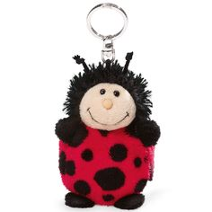 NICI Lady Bird Shopping Friend 10cm with bag 39x42cm