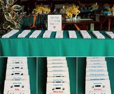 Foto 124 de 608 Ideas originales para tus tarjetas de ubicación. Imagen: Inspired Bride | HISPABODAS