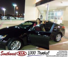 Happy Anniversary to Nancy Navarro on your 2012 #Kia #Optima from Kevin Cole and everyone at Southwest Kia Mesquite! #Anniversary