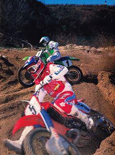 Honda Dirt Bike, Dirt Bike Racing, Dirt Bike Girl, Moto Bike, Motorcycle Bike, Mx Racing, Motocross Racer, Motocross Gear, Vintage Motocross
