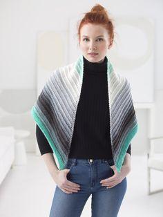 Eyelet Triangle Shawl (Knit) *Out of Stock - ETA January 2018