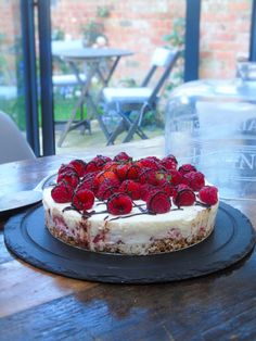 Syn free berry cheesecake