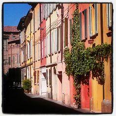 Reggio Emilia street - Instagram by @asgeirheart Pedersen