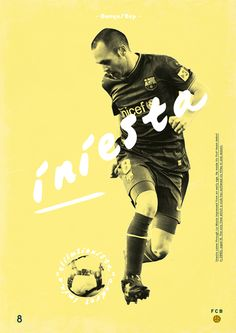 Football Legends by Dylan Giala, via Behance #soccer #poster