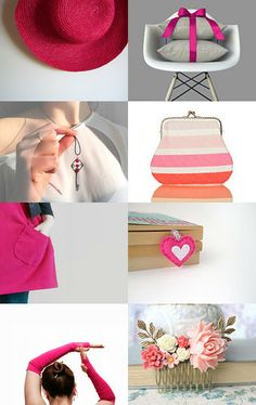 Pink hue by Yael Scharaby on Etsy--Pinned with TreasuryPin.com