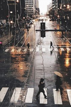Rainy City View Outside Window Glass Street View #iPhone #4s #wallpaper