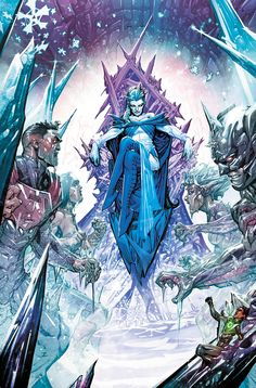 Fire and Ice to Join Blue Beetle and Booster Gold in Giffen and DeMatteis's Justice League 3000
