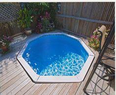 just a teeny tiny pool