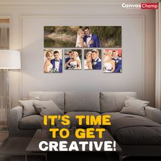 Decorate home walls with personalized canvas wall displays. Use multiple images or a single image spanning a display wall with your custom canvas at discounted prices. Wall Canvas, Canvas Prints, Multiple Images, Custom Canvas, Single Image, Photo Canvas, Photo Wall, How To Get, Display