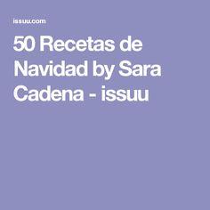 50 Recetas de Navidad by Sara Cadena - issuu Salad Recipes, Deserts, Food And Drink, Cooking Recipes, Food Salad, Gastronomia, Pink, Chocolate Lava Cake, Vegetable Pie