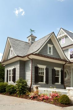 Epic 50+ Black Roofing & Gutters For Your House https://decoratio.co/2017/06/26/50-black-roofing-gutters-house/ Gutters don't need to be a compromise. Blocked gutters are an issue, and normal maintenance is required