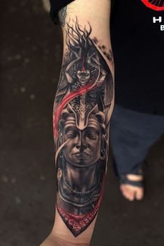 Lord Shiva-Kali Tattoo by Sunny Bhanushali at Aliens tattoo India