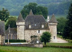 Château de Sourniac - Cantal, Auvergne