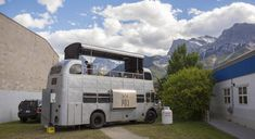"Canmore's New Double-Decker ""Food Truck"" 