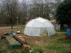 grodome portable greenhouse Want. Portable Greenhouse, Geodesic Dome, Vegetable Garden, Conservation, Outdoor Gear, Tent, Architecture, Building, Party Ideas
