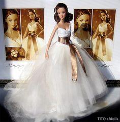 Barbie Monique Lhuillier Biride