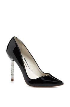 Free shipping and returns on SOPHIA WEBSTER 'Lyla 1' High Pump at Nordstrom.com. An insouciant curved topline and unexpectedly edgy heel detailing infuse a glossy patent pump with killer style.