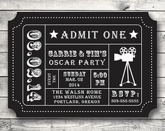 NYE Ticket Invitation New Year's Eve Party by KristenMcGillivray