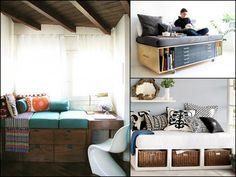 Under Couch Storage Ideas