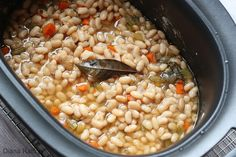Homemade Great Northern Beans From Your Slow Cooker